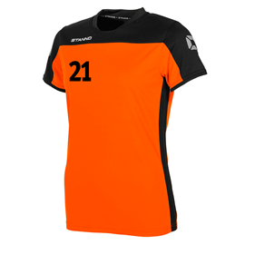 STANNO PRIDE T-SHIRT WN´S ORANGE-BLACK L