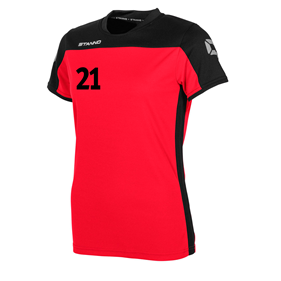 STANNO PRIDE T-SHIRT WN´S RED-BLACK L