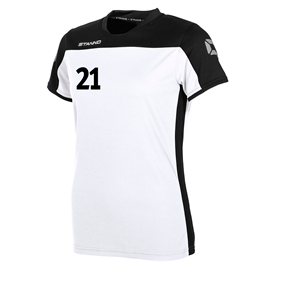 STANNO PRIDE T-SHIRT WN´S WHITE-BLACK L