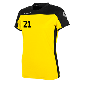 STANNO PRIDE T-SHIRT WN´S YELLOW-BLACK L