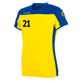 STANNO PRIDE T-SHIRT WN´S YELLOW-BLUE L
