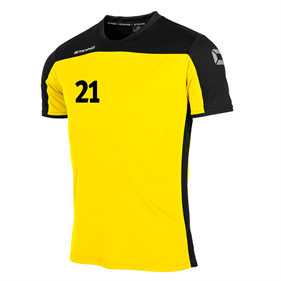 STANNO PRIDE T-SHIRT YELLOW-BLACK L