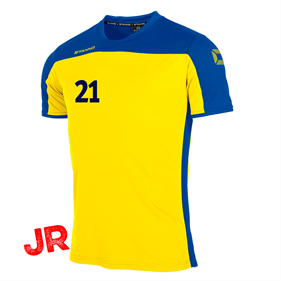 STANNO PRIDE T-SHIRT YELLOW-BLUE JR 116 CL