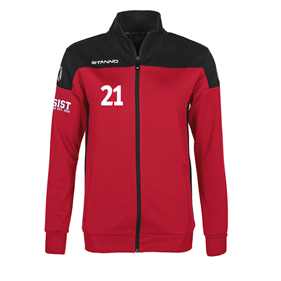 STANNO PRIDE TOP FZ WN´S RED-BLACK XS