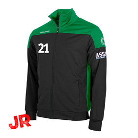 STANNO PRIDE TOP FZ BLACK-GREEN JR 116 CL