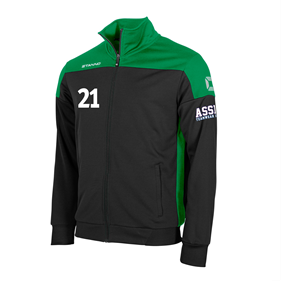 STANNO PRIDE TOP FZ BLACK-GREEN L
