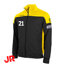 STANNO PRIDE TOP FZ BLACK-YELLOW JR 116 CL