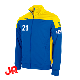 STANNO PRIDE TOP FZ BLUE-YELLOW JR 116 CL
