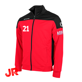 STANNO PRIDE TOP FZ RED-BLACK JR 116 CL
