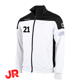 STANNO PRIDE TOP FZ WHITE-BLACK JR 116 CL