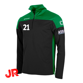 STANNO PRIDE TOP HZ BLACK-GREEN JR 116 CL