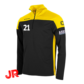STANNO PRIDE TOP HZ BLACK-YELLOW JR 116 CL