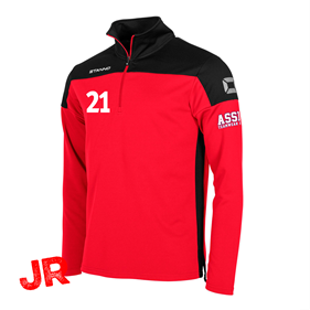 STANNO PRIDE TOP HZ RED-BLACK JR 116 CL