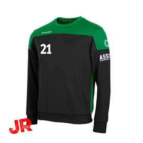 STANNO PRIDE TOP ROUND NECK BLACK-GREEN JR 116 CL