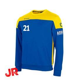 STANNO PRIDE TOP ROUND NECK BLUE-YELLOW JR 116 CL