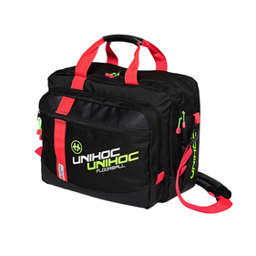 UNIHOC COMPUTER BAG CRIMSON LINE BLACK