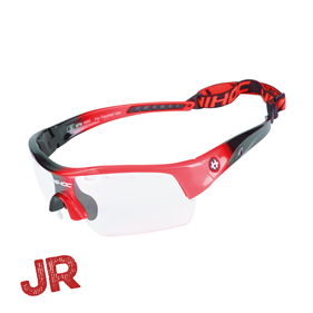 UNIHOC EYEWEAR VICTORY JUNIOR BLACK/NEON RED