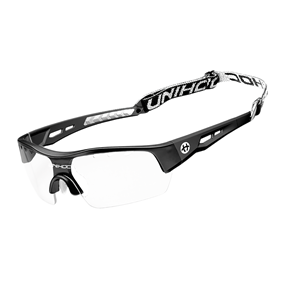 UNIHOC EYEWEAR VICTORY SENIOR BLACK/WHITE