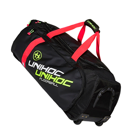UNIHOC GEARBAG CRIMSON LINE LARGE BLACK (WITH WHEELS)