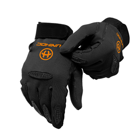 UNIHOC GOALIE GLOVES PACKER BLACK L/XL
