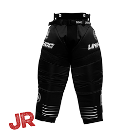 UNIHOC GOALIE PANTS INFERNO JR BLACK 140 CL