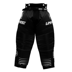 UNIHOC GOALIE PANTS INFERNO BLACK L