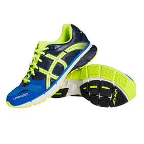 UNIHOC U3 RUNNER TRX BLUE/YELLOW EUR 36 - 22.5 CM