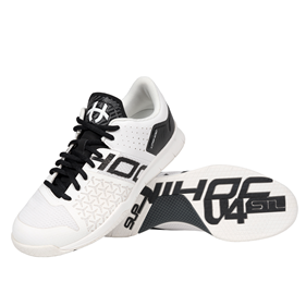 UNIHOC U4 STL LOWCUT MEN WHITE/BLACK EUR 41 - 26.5 CM