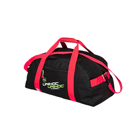 UNIHOC SPORTBAG CRIMSON LINE SMALL BLACK