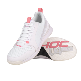UNIHOC U4 PLUS LADY WHITE/PINK EUR 36 - 23 CM