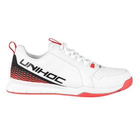 UNIHOC U4 PLUS LOWCUT MEN WH/RED EUR 45 - 30.5 CM