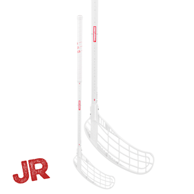 ZONE FORCE AIR 35 JR WHITE/RED 70CM LEFT