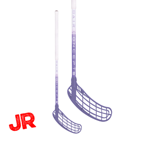 ZONE FORCE AIR 35 JR WHITE/VIOLET 70CM RIGHT