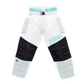 ZONE GOALIE PANTS MONSTER WHITE/BLUE XXL
