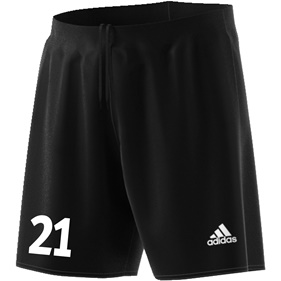 ADIDAS PARMA SHORTS BLACK/WHITE L