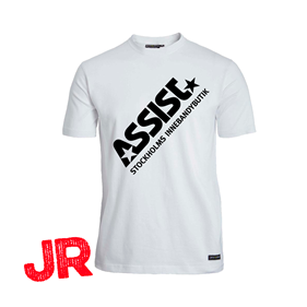 ASSIST FUNCTIONAL TEE 2.0 JR WHITE 120 CL