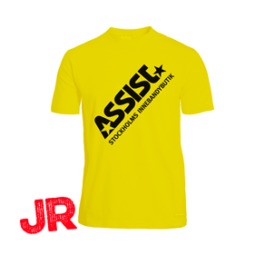 ASSIST FUNCTIONAL TEE 2.0 YELLOW JR 120 CL