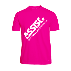 ASSIST FUNCTIONAL TEE 2.0 PINK L