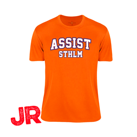 ASSIST STHLM FUNCTIONAL TEE JR ORANGE 120 CL