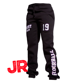 ASSIST STHLM SWEATPANTS JR BLACK 140 CL