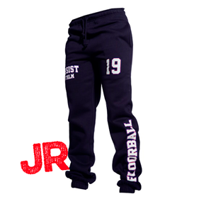ASSIST STHLM SWEATPANTS JR NAVY 140 CL