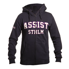 ASSIST STHLM ZIP HOOD WN´S BLACK L