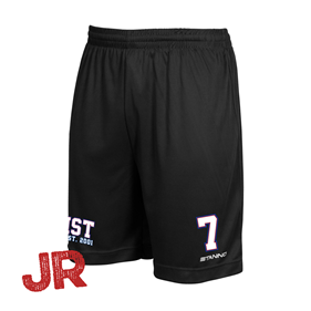 ASSIST TEAM SHORTS SVARTA JR 128 CL