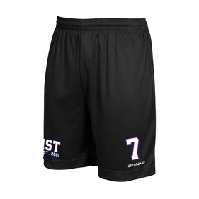 ASSIST TEAM SHORTS SVARTA L