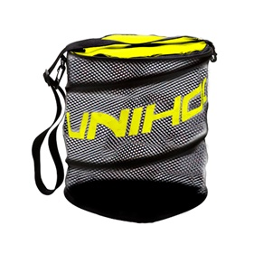 UNIHOC BALLBAG FLEX BLACK/NEON YELLOW