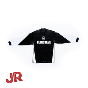 BLINDSAVE GOALIE JERSEY BLACK JR 140 CL