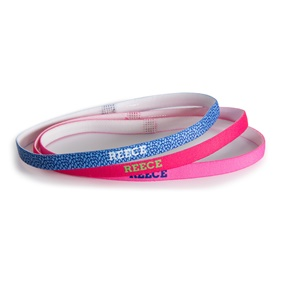 REECE CAMDEN HAIRBAND SET 3PCS BLUE/PINK/HOT PINK