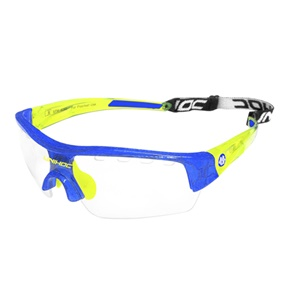 UNIHOC EYEWEAR VICTORY KIDS CRYSTAL BLUE/YELLOW