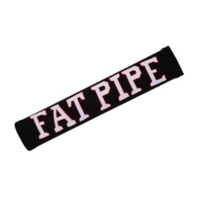 FATPIPE ALBERT - EXTRA LONG WRISTBAND BLACK