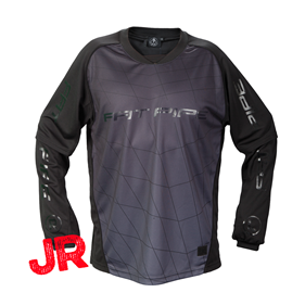 FATPIPE GK-SHIRT JR ALL BLACK 150 CL
